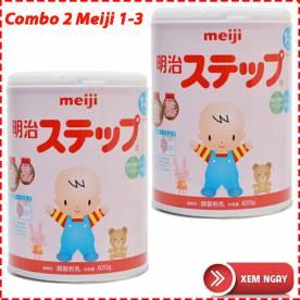 Combo 2 hộp Meiji 1-3 (820g*2)