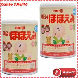 Combo 2 hộp sữa Meiji số 0 (800g*2)