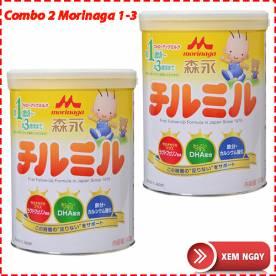 Combo 2 hộp sữa Morinaga 1-3 (820g*2)