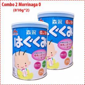 Combo 2 hộp sữa Morinaga 0 (810g*2)