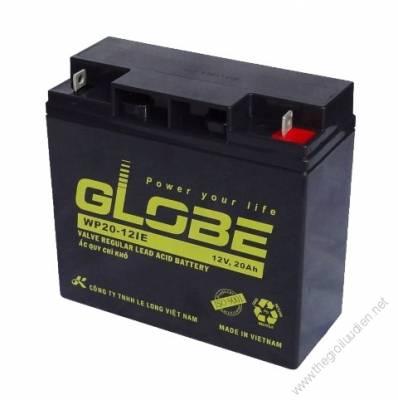 Bình ắc quy (AGM VRLA) Globe 12V-20Ah