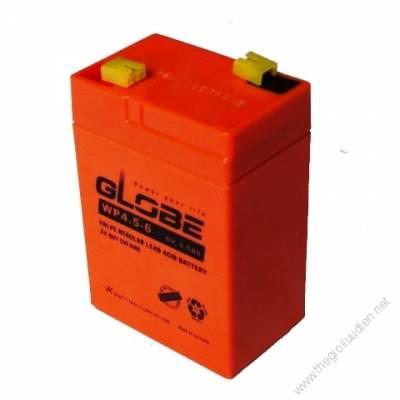 Bình ắc quy (AGM VRLA) Globe 6V-4.5Ah