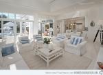 15 thiết kế phòng khách với màu trắng sang trọng và thanh khiết