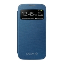 FlipCover Samsung S-view Galaxy S4 (Blue)