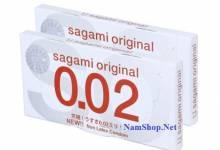 Sagami Original 002 - Bao cao su siêu mỏng bán chạy nhất