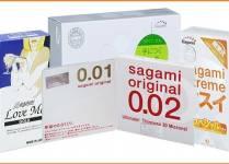 Giá bán lẻ các loại bao cao su Nhật Bản chính hãng?