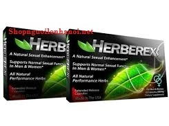 Herberex USA, tăng cương dương, kéo dài quan hệ, vỉ 10V