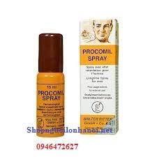 Thuốc xịt kéo dài thời gian quan hệ Procomil Spray