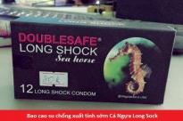 Bao cao su chống xuất tinh sớm Cá Ngựa Longshock (12c)
