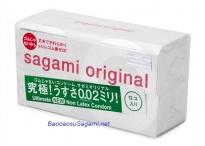 Bao cao su siêu mỏng Sagami Original 0.02 (Hộp 12c)