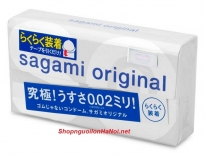 Bao cao su siêu mỏng Sagami Original 0.02 Quick (6c)