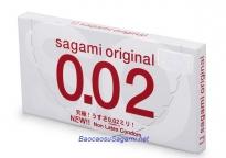 Bao cao su Sagami Original 0.02 mỏng nhất thế giới (2c)