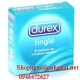 Bao cao su có hương thơm bạc hà Durex Tingle (3bcs)