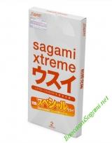 Bao cao su Sagami Xtreme Super Thin - Hộp 2c