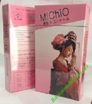 Bao cao su có gai gân nổi MiChiO, bao cao su của Nhật Bản