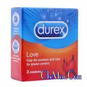 Bao cao su siêu mỏng trơn Durex Love