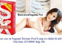 Video giới thiệu Bao cao su Sagami Xtreme Feel Long có chấm