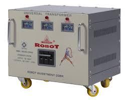 Biến thế đổi điện 3 pha Robot 15KVA (dây đồng)