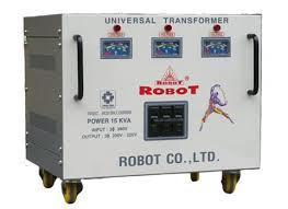 Biến thế đổi điện 3 pha Robot 120KVA (dây đồng)