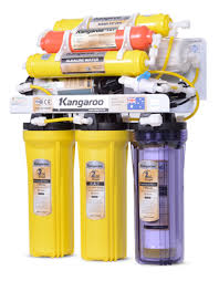 Máy Lọc Nước R.O Gia Đình Vỏ Inox Nhiễm Từ Kangaroo KG107NT