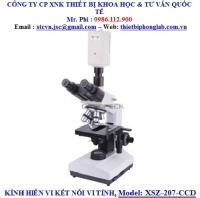 KÍNH HIỂN VI KẾT NỐI MÁY TÍNH, Model: XSZ-2007 –CCD