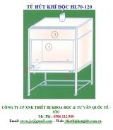 Tủ hút khí độc Việt Nam HL70-120
