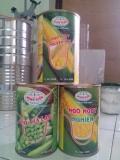 Ngô ngọt, ngô nghiền,đậu hà lan đóng trong lon 15Zo