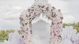 Khung cảnh đám cưới đẹp như chốn thần tiên