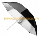 UMBRELLA-BLACK-SILVER