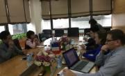 Chuyên gia, đối tác của Tiến Việt Thái tới thăm và hỗ trợ khách hàng của Công ty