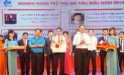 """Tiến Việt Thái được Tuyên dương danh hiệu """"Doanh nhân trẻ Thủ đô tiêu biểu năm 2016"""""""