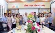 CBNV Công ty CP Tiến Việt Thái tổ chức sinh nhật  TGĐ Nguyễn Quốc Toán