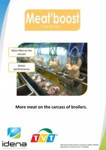 MeatBoost - Tăng ức, lườn cho gà