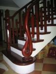 Cầu thang gỗ MS 08