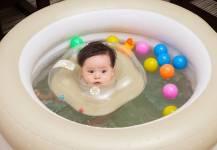 Cách sử dụng bể bơi bơm hơi, phao bơi