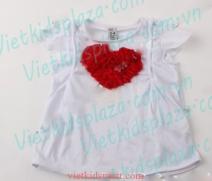 Áo phông Zara kết hoa hình tim
