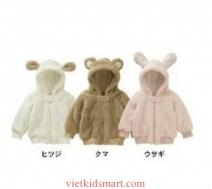 Áo khoác băng lông hình thỏ