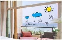 Decal dán tường Sunny Day