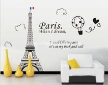 Decal tháp Eiffel số 1