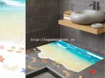 Decal Bờ biển tạo cảm giác 3D