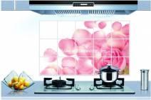 Giấy dán bếp Hoa hồng số 6