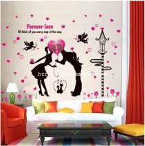 Decal dán tường Tình yêu vĩnh cửu