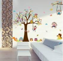 Decal dán tường Vườn thú số 33