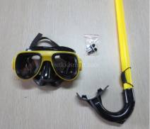 Set kính bơi kèm ống thở và che tai