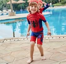 Đồ bơi Người nhện ngắn tay số 3