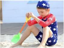 Đồ bơi dài tay Sao cờ Mỹ