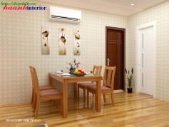 Dự án thiết kế nội thất nhà Chị Ngà– CC RainBow Linh Đàm