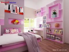 Công trình thiết kế và thi công phòng cho bé trung tâm thành phố Hà Tĩnh