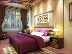 Thiết kế phòng ngủ công trình chị Phúc Bắc Ninh