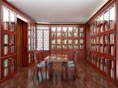 Thiết kế phòng ngủ và phòng thư viện biệt thự Spendora